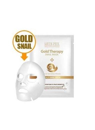 Medipeel Gold Snail - Salyangoz Özlü Onarıcı Besleyici Yüz Maskesi Renksiz